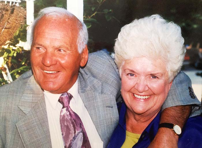 Patricia and Fred Rozzi Sr. were married for 54 years before he died in 2004.