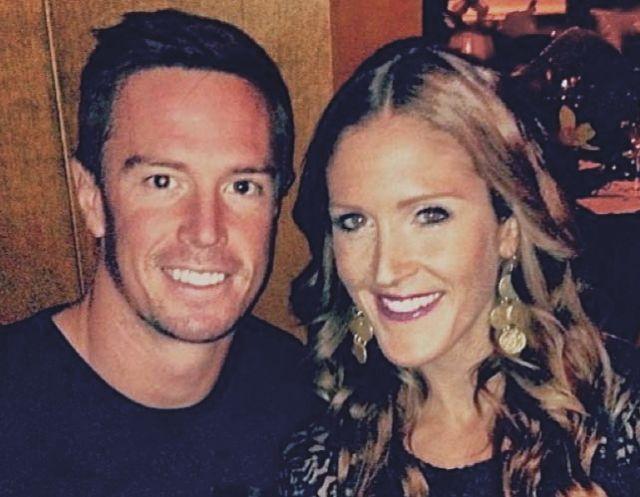 Matt Ryan and Sarah Marshall Ryan