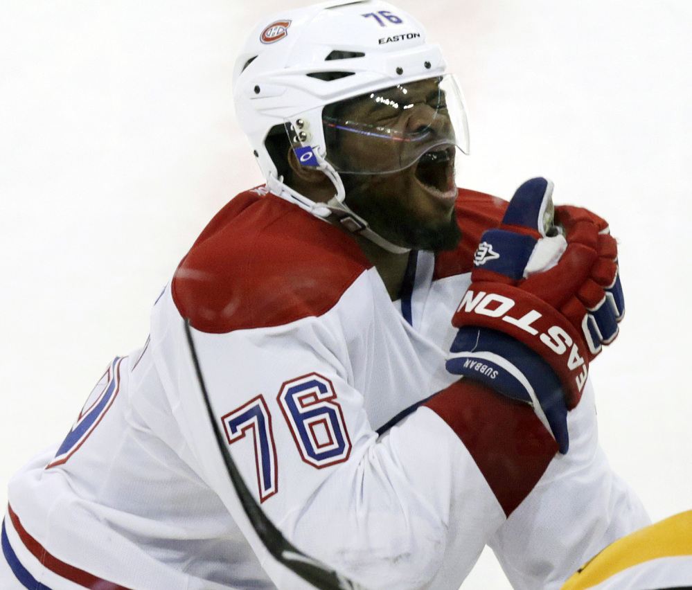 Montreal's P.K. Subban has long been unpopular in Boston, and his OT goal Thursday night brought out the worst in some fans.