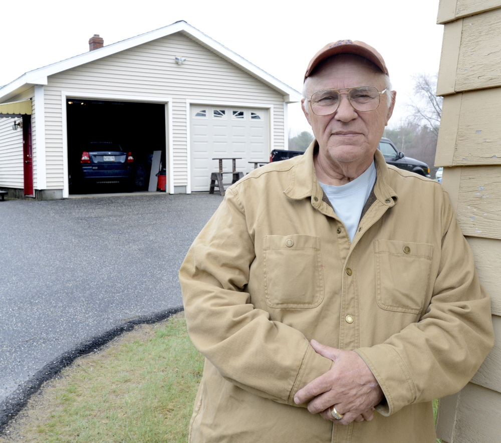"""George Coburn hopes to sell his Saco home, settle his tax bill and move to Florida. """"I love the area, but I can't afford to pay the taxes,"""" he said."""
