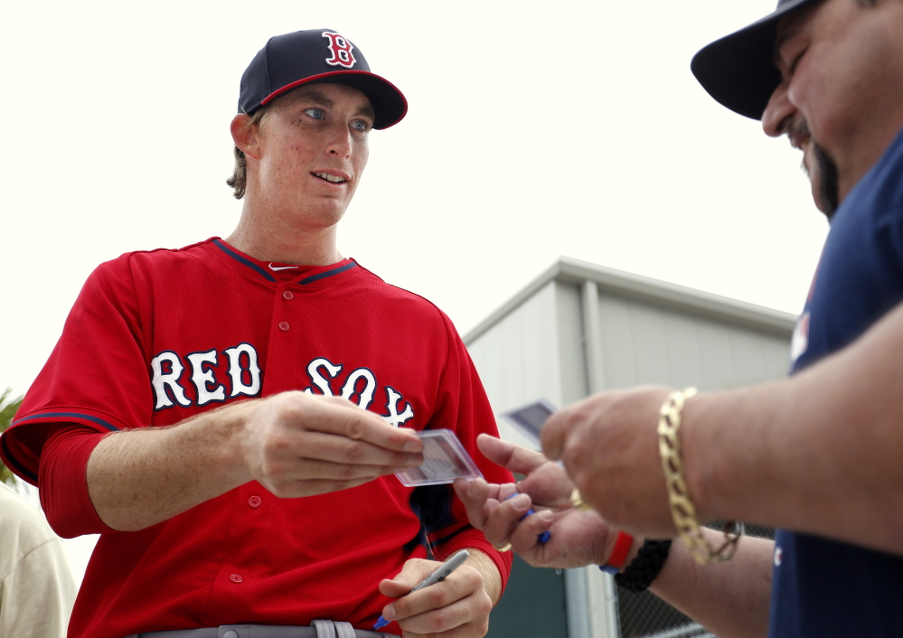 Red Sox prospect Henry Owens can be plenty personable, whether he's interacting in person as he was in spring training or through his amusing tweets as a Sea Dog.