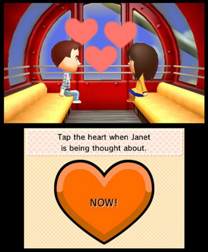 """This photo provided by Nintendo shows a screenshot from the video game, """"Tomodachi Life."""""""
