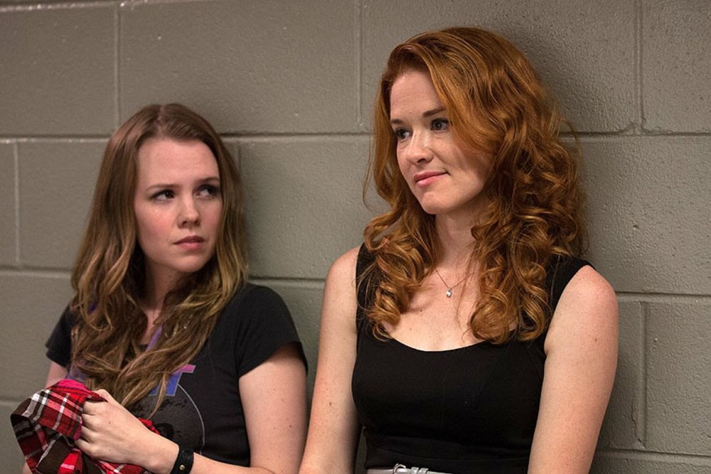 "Abbie Cobb and Sarah Drew in ""Moms' Night Out."""