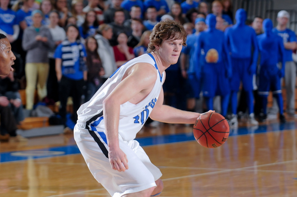 """Clark Noonan """"was all business, driven,"""" his coach says. """"He only knew one way to play. He wasn't the guy to make excuses. Off the court, he was a big teddy bear."""""""