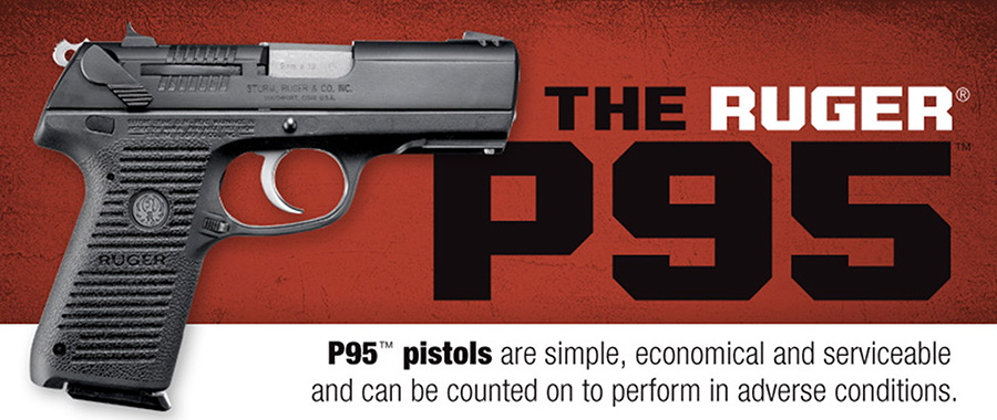 This screen image from the Ruger website shows a P95 pistol like the one authorities say was used by Boston Marathon bombing suspect Tamerlan Tsarnaev.