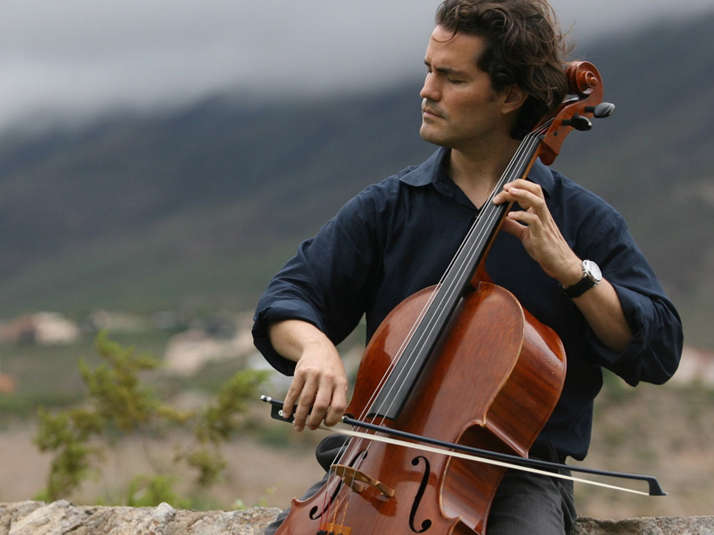 "Cellist Zuill Bailey performs ""Don Quixote"" with the Portland Symphony Orchestra on Tuesday."