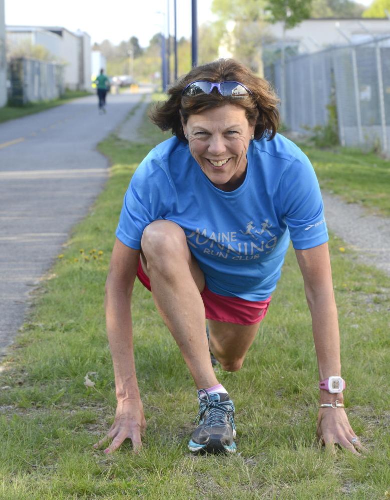 Diane Bell completed her second marathon last Sunday, running the Maine Coast Marathon in 4:59:36.