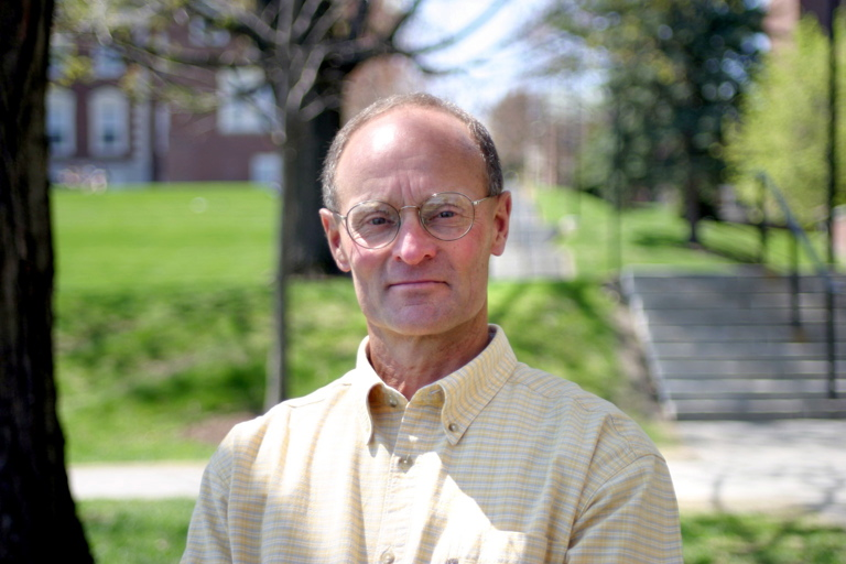 REMEMBERED: Jim Wescott in summer 2003, the year he retired from Colby College. Wescott, of Belfast, drowned in a Camden lake Tuesday Photo courtesy of Colby College