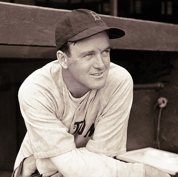 Manager Joe Cronin of the Boston Red Sox is shown at Yankee Stadium on May 3, 1938.
