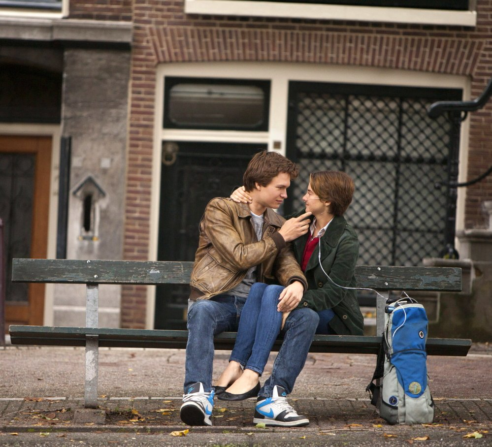 """Ansel Elgort and Shailene Woodley star in """"The Fault in Our Stars."""" 20th Century Fox"""