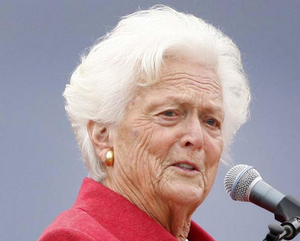 Barbara Bush plans low-key 89th birthday - The Portland ...