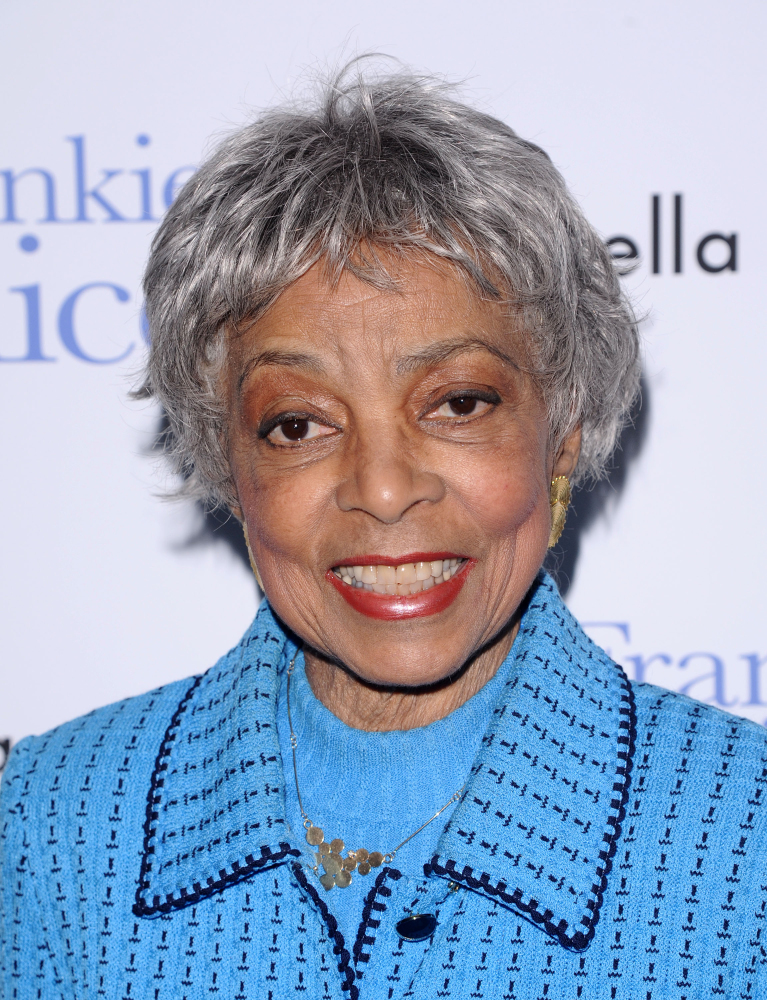 "In this 2010 photo, Ruby Dee attends a special screening of ""Frankie & Alice"" in New York."