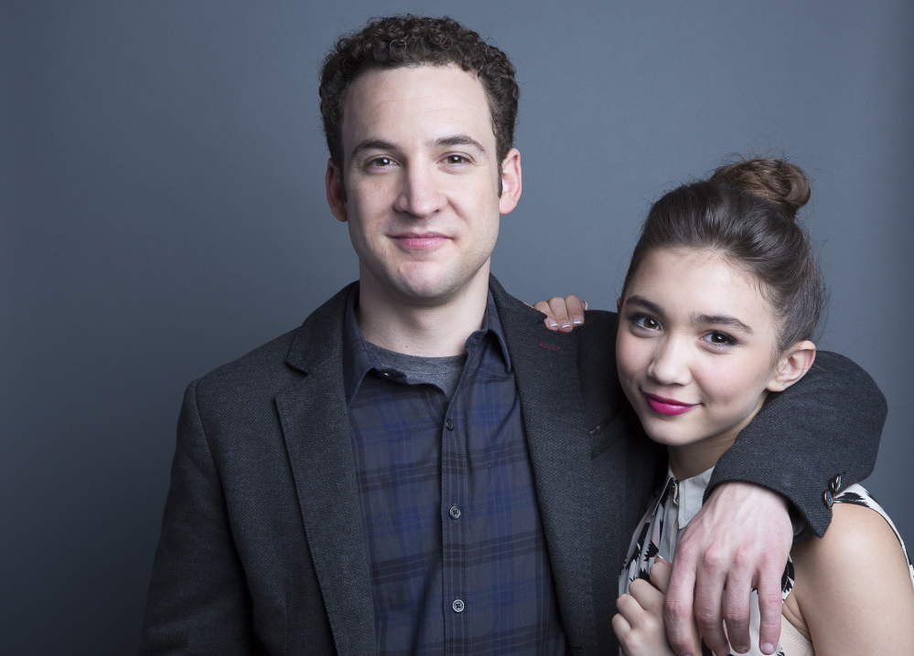 """Ben Savage and Rowan Blanchard star in """"Girl Meets World,"""" which premiered on Friday on the Disney Channel."""