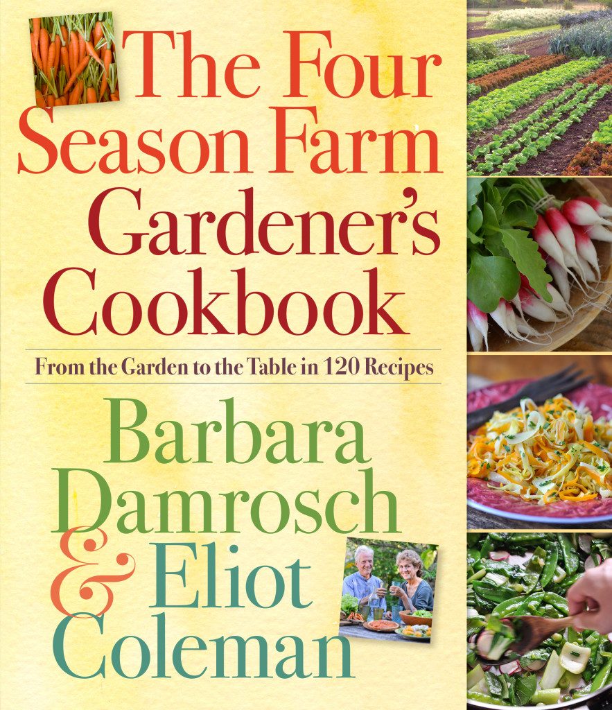 The Four Season Farm Gardener's Cookbook by Barbara Damrosch and Eliot Coleman of Harborside, Maine, is one of three winners of the 2014 American Horticultural Society Book Award.
