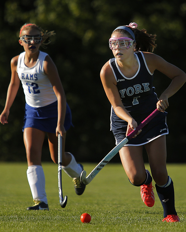 Field Hockey: Taylor Simpson from York High School.