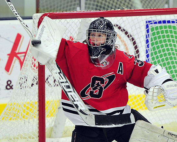 Girls' Hockey: Devan Kane from Scarborough High School.