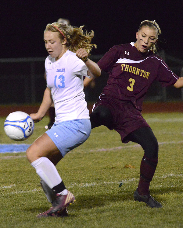 Girls' Soccer: Cassie Symonds from Windham High School.