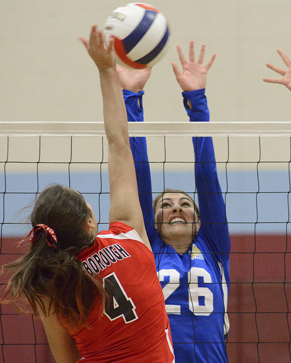 Volleyball: Megan Tamarro from Falmouth High School.