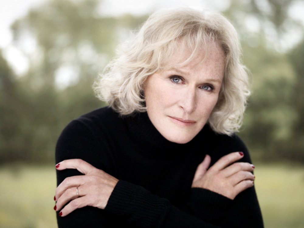 Glenn Close will get the Mid-Life Achievement Award at the Maine International Film Festival. Contributed photo