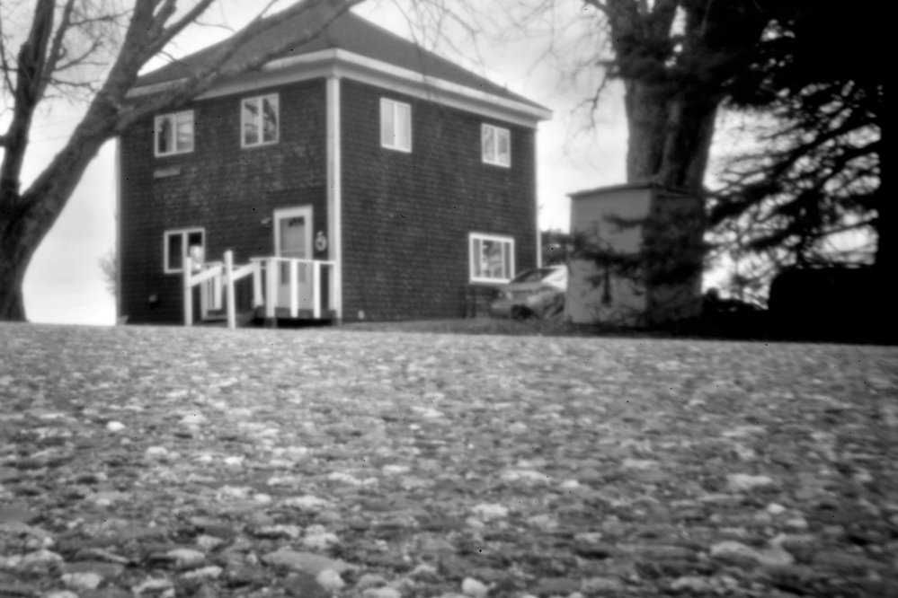 Violence broke out in November 1965 in the yard outside Christy Altvater's house, above, located just outside the Pleasant Point reservation. Two Passamaquoddy Indians were left badly beaten, one of them fatally.