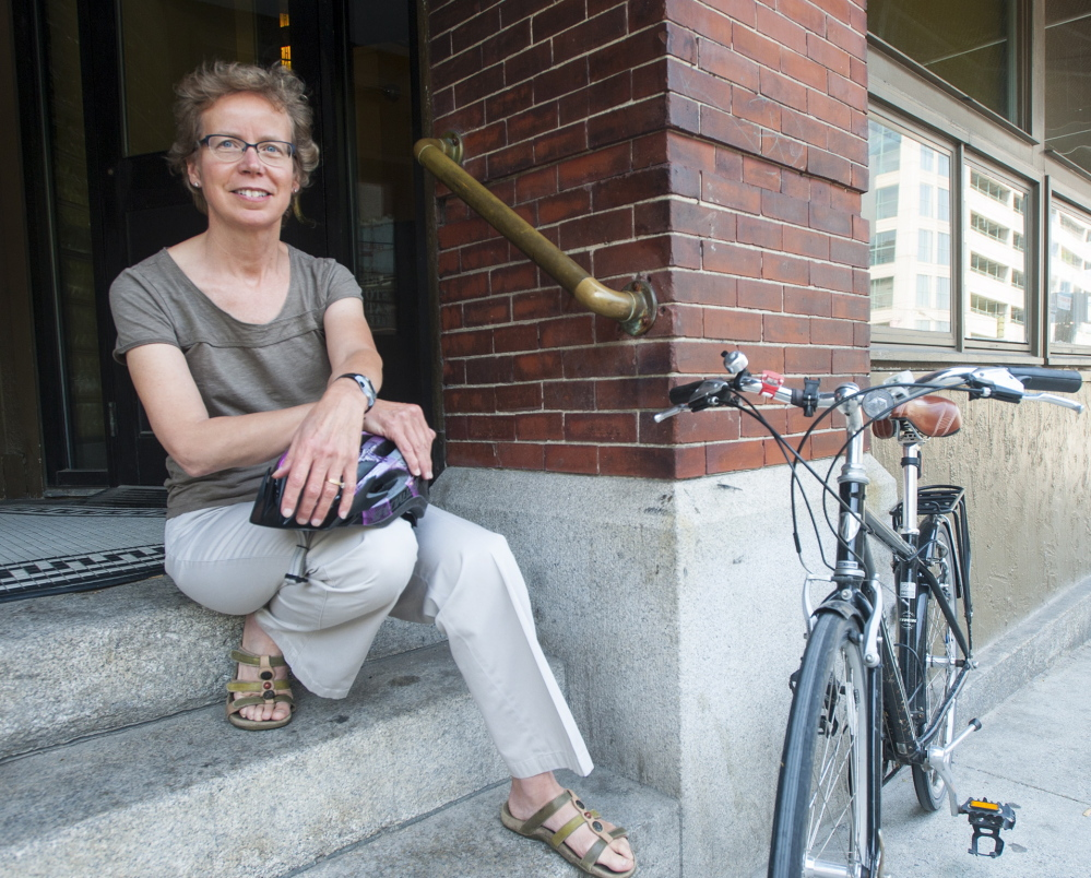 Kim True is at the helm of Bike Maine, which will offer an eight-day tour again in September. Last year's ride injected $235,000 into local communities.