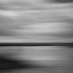 An image created with a pinhole camera shows the shoreline off Pleasant Point in Down East Maine. Late in the summer of 1967, a routine traffic stop on the causeway leading to the reservation escalated into a violent conflict between Indians and the police.