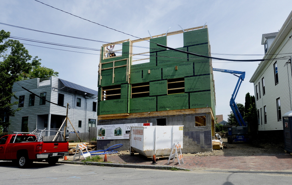 Portland Bucks Maine Housing Struggles Tied To Harsh