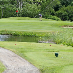 Nonesuch River is named for, well, the Nonesuch River that meanders through the course, including near the 16th green. The course also is adjacent to the Maine Turnpike.