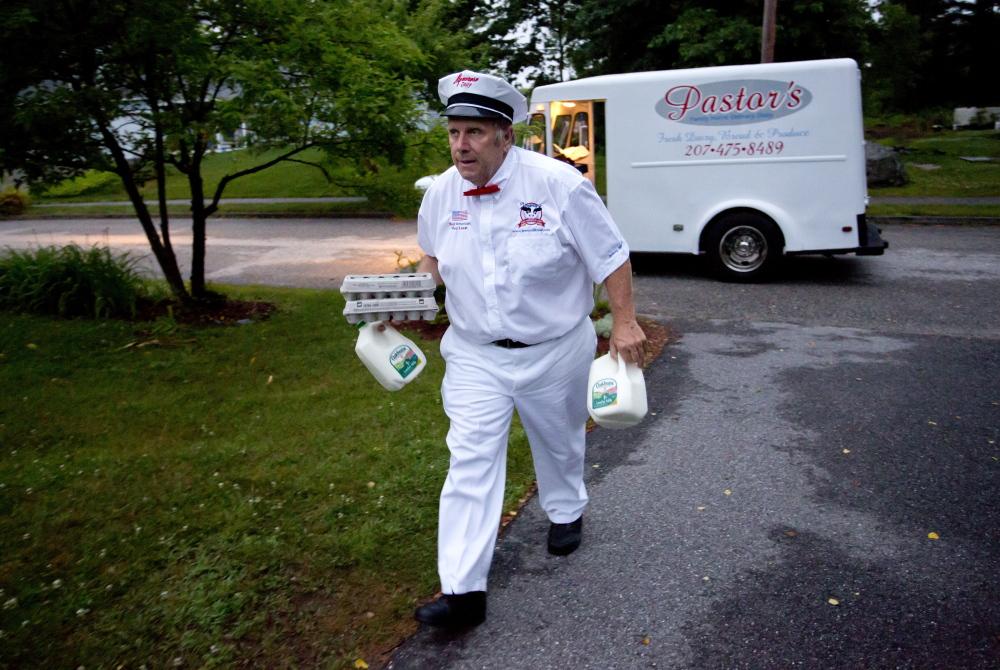 In Maine The Milkman Returns The Portland Press Herald