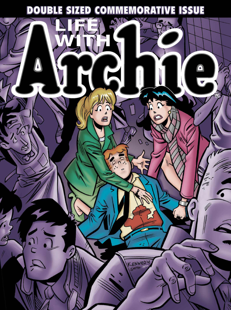 This image provided by Archie Comics shows the cover of