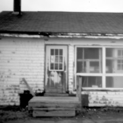 A boarded-up building belies the difficult life on Peter Dana Point in Indian Township. Governing without a tribal constitution in the years following the Indian land claims settlement of 1980 put the Passamaquoddy in a risky spot, even with their own leadership.