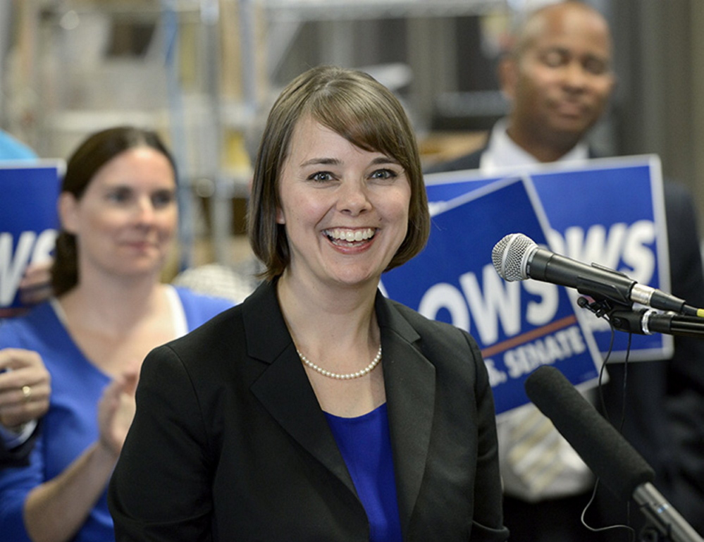 Shenna Bellows, the Democratic U.S. Senate candidate, will walk from Houlton to Kittery and plans to visit 63 communities in hopes of raising her profile in the race against Sen. Susan Collins.