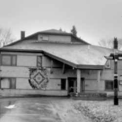 The tribal government building at Indian Township. Even after Bobby Newell was convicted of misapplying federal funds and a new governor stepped into the leadership role, questions about spending and appropriations persisted on the reservation.