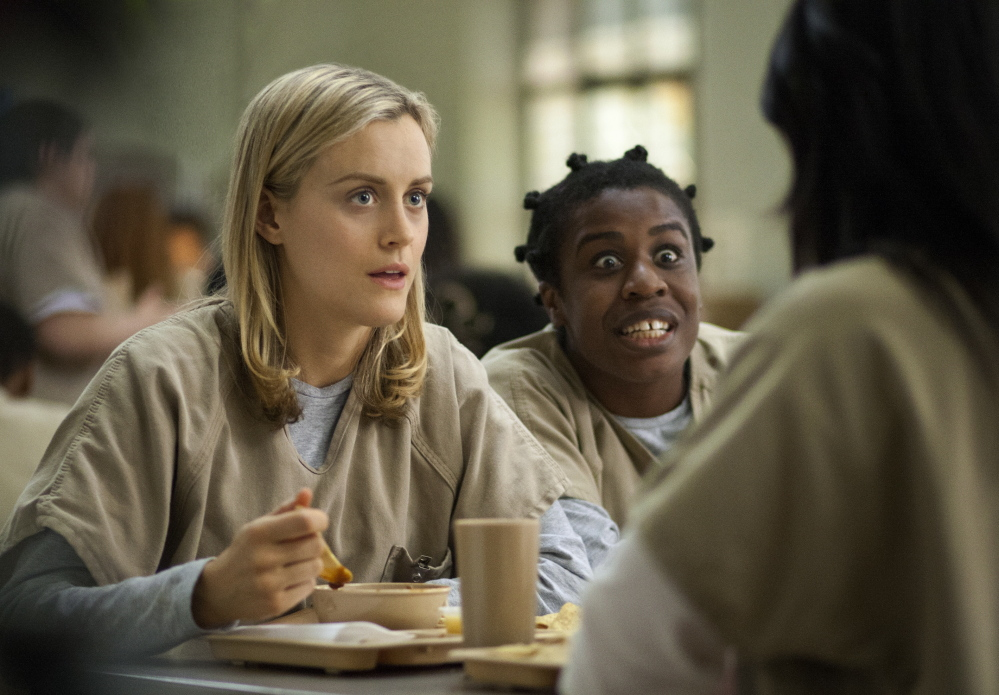 """Shows like the second season of """"Orange Is the New Black"""" helped Netflix draw an additional 570,000 U.S. subscribers during the second quarter, the company announced Monday."""