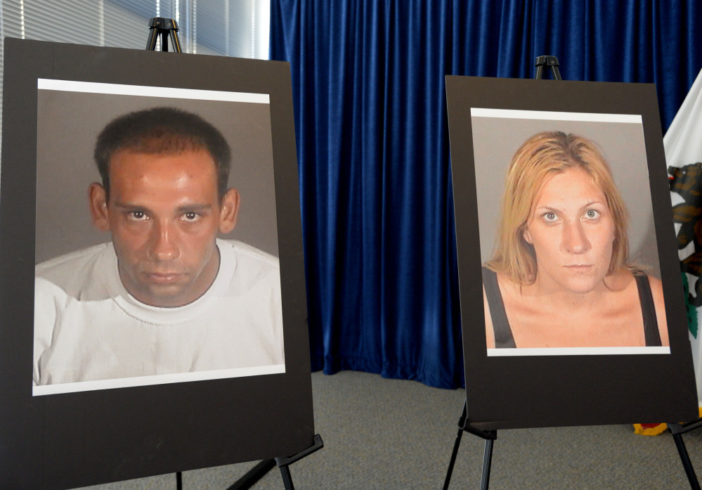 Prosecutors said they're deciding whether to charge a man who killed Andrea Mitchell, right, while her alleged accomplice escaped.