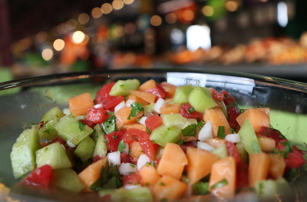 Picante Three-Melon Salad.