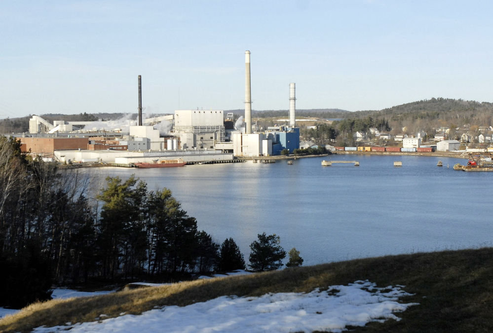 Verso Paper owns this mill in Bucksport and another one in Jay. Acquiring NewPage would add eight mills to its lineup, including one in Rumford.