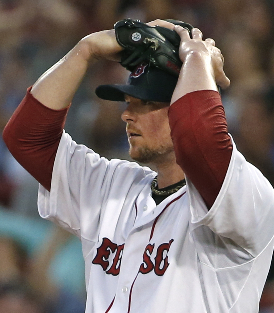 Jon Lester didn't pitch Wednesday night and may not be with Boston after Thursday's trade deadline. Why? He's 30 and wants a long-term deal, but Boston generally does not offer more than four-deal deals to aging players.