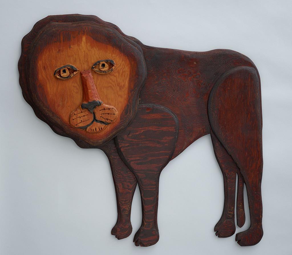 """Untitled"" (Lion)"
