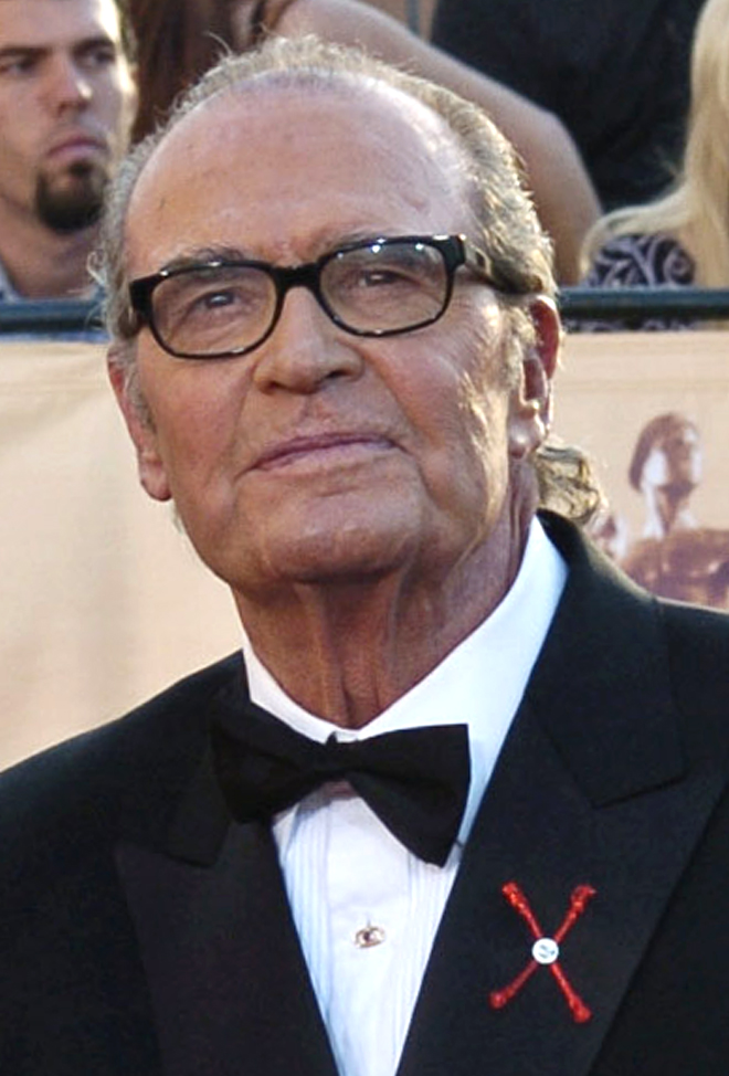 In this Feb.  5, 2005 photo, James Garner arrives for the 11th annual Screen Actors Guild Awards in Los Angeles. The Associated Press