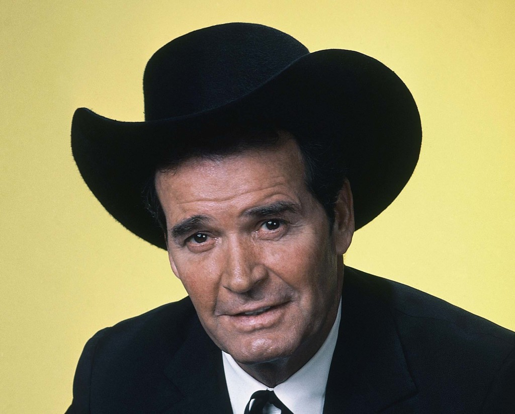 Actor James Garner is shown in character in this April 7, 1982 photo.  The Associated Press