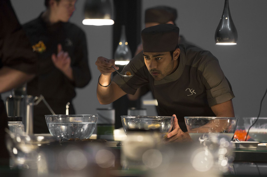 """Manish Dayal is Hassan Kadam in DreamWorks Pictures' film """"The Hundred-Foot Journey,"""" one of a number of recent culinary-based movies."""