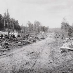 Penobscot Ave. in Millinocket, Maine in 1899.
