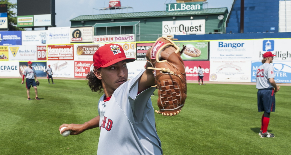 Aaron Kurcz of the Portland Sea Dogs says he's as good as ever, but only after becoming one of the hundreds of professional baseball players who had Tommy John surgery to continue careers.