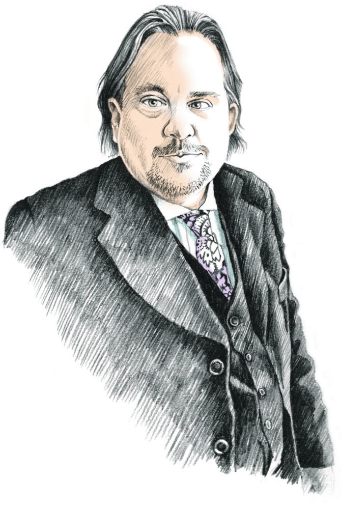 Andrew Ian Dodge Staff Illustration   Michael Fisher