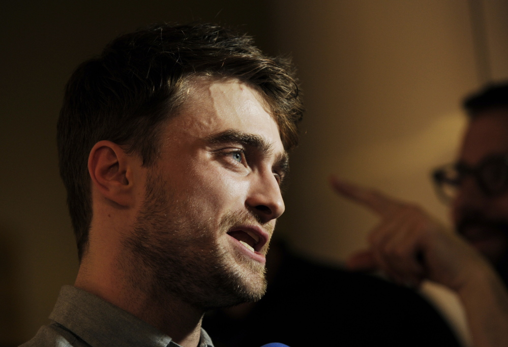 """Daniel Radcliffe of Harry Potter fame stars in the romantic comedy """"What If,"""" which opened this weekend."""
