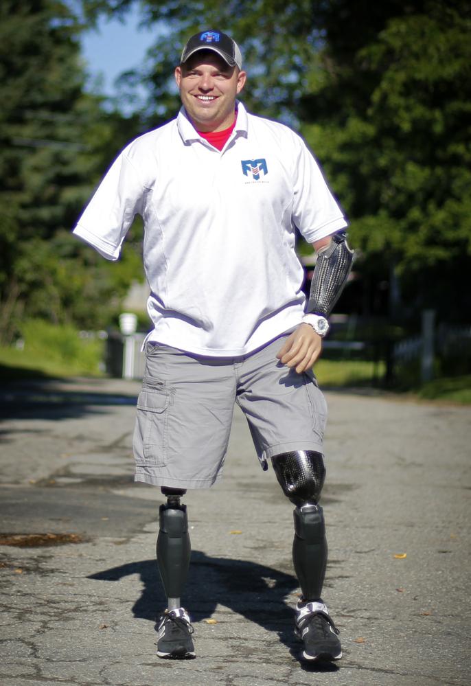 Retired Army Staff Sgt. Travis Mills