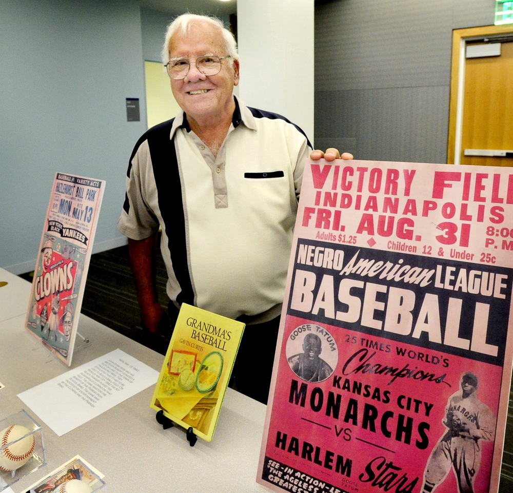 Joe Caliro will make a presentation on the Negro Leagues, including its history in southern Maine, on Tuesday at the McArthur Library in Biddeford.