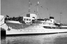The Williamsburg's history includes service as the vessel on which President Harry  Truman hosted world leaders for pivotal discussions such as the post-World War II reconstruction of Europe, the Korean War and the U.S.-Soviet arms race.