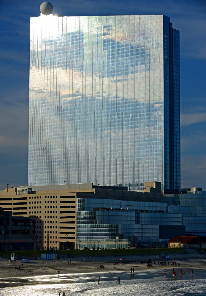 The Revel casino and resort reflects afternoon sunlight in Atlantic City, N.J. It had been seen as the last, best chance for Atlantic City's gambling market.